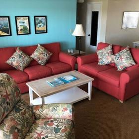 Camelot by the Sea — Living Area