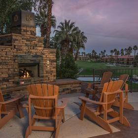 Marriott's Desert Springs Villas II — Firepit