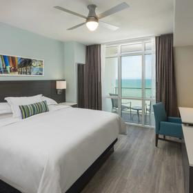 Ocean 22 by Hilton Grand Vacations (HGVC) — Bedroom