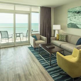 Ocean 22 by Hilton Grand Vacations (HGVC) — Living Area