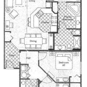 Wyndham Governor's Green - Unit Floor Plan