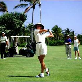 Golf at the Melia Vacation Club at Melia Tropical
