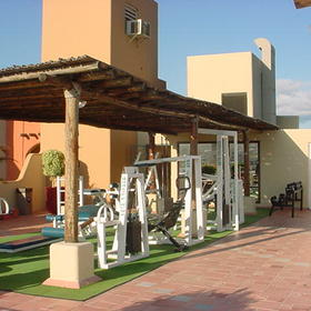 Marina Fiesta Resort - Rooftop Fitness Center