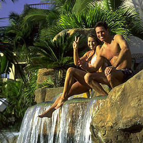 Pueblo Bonito Resort - Pool Waterfall