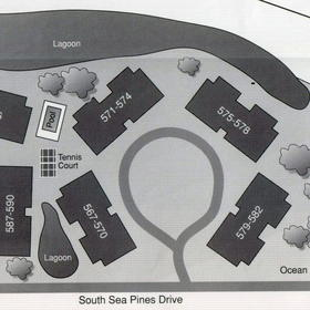 Spicebush at Sea Pines - Resort Map