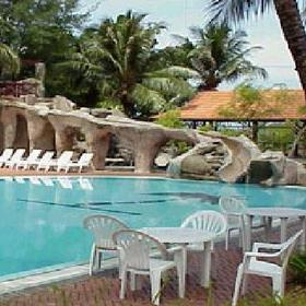 Bayu Beach Resort — Pool at the