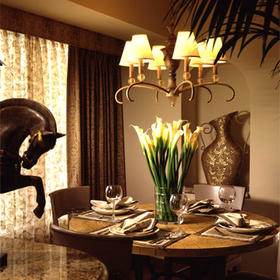 The Villas at Polo Towers  - Unit Dining Area