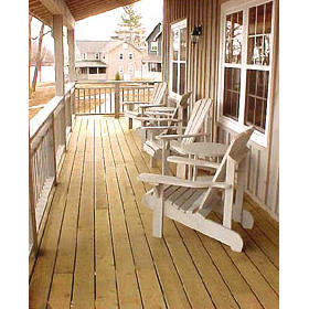Tory's Landing — - Front porch