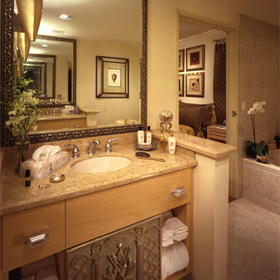 The Villas at Polo Towers — - Unit Bathroom