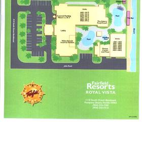 Wyndham Royal Vista - Resort Map
