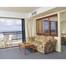 WorldMark Golden Beach Resort — - Unit Living Area