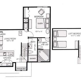 Powhatan - Unit Floor Plan