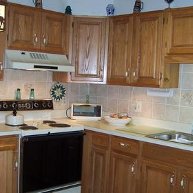 Christmas Mountain Resort — - Unit Kitchen
