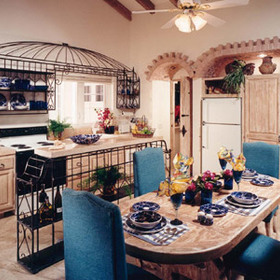 Los Cabos Golf Club - Unit Dining Area & Kitchen
