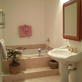Blind Pass Condominiums - Unit Bathroom