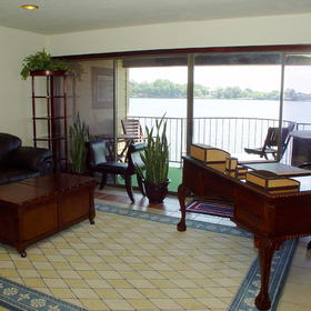 The Landing at Seven Coves - Unit Living Area