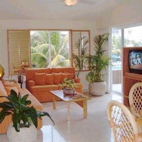 Sunset Fishermen Spa & Resort - Unit Living Area