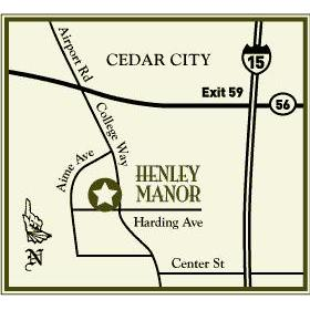 Henley Manor - Area Map