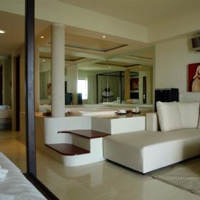 Desire Resort and Spa — - Unit Living Area