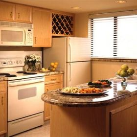 Polo Towers — - Unit Kitchen