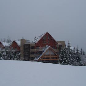 Whistler Vacation Club at Lake Placid Lodge — November snow