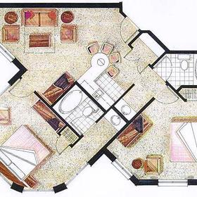 Varsity Clubs of America - South Bend Chapter — - Unit Floor Plan
