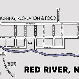 Caribel Condominiums — Red River Map