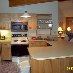 Barrier Island's Ocean Pines Beach - Unit Kitchen