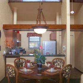 The Resort at Fishermen's Village - Unit Dining Area and Kitchen