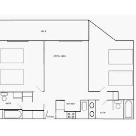 Pinestead Reef - VIP — One Bedroom Layout (may be variations)