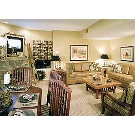 David Walley's Hot Springs Resort and Spa- Unit Living Area
