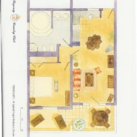 The Regency Country Club — Floor Plans Verdi Suite Deluxe Apartment