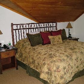 The Whiteface Lodge — - Unit Bedroom