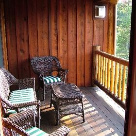 The Whiteface Lodge — - Unit Deck
