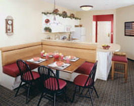 Marriott's Willow Ridge Lodge - Unit Dining Area