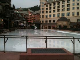 Outdoor Iceskating Rink