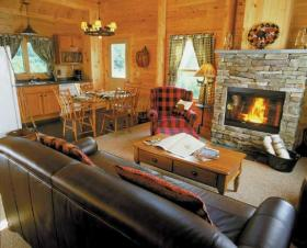 Rangeley Lake Resort - Unit Interior