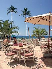 Ka'anapali Beach Club - restaurant on terrace