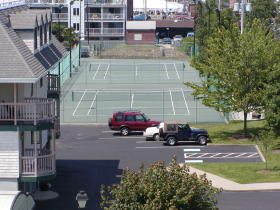 The Wellington - Tennis Area