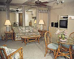 Sea Club V - Unit Living Area