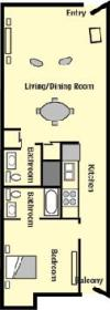 Vacation Villas - Unit Floor Plan