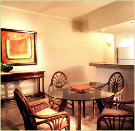 Club Velas Vallarta - Unit Dining Area