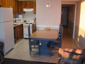 Seawatch Landing - Unit Dining Area & Kitchen