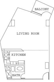 The Cove on Ormond Beach - Unit Floor Plan