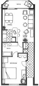Costa del Sol Resort - Unit Floor Plan