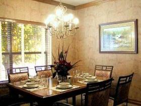 Westgate Branson Lakes - Unit Dining Area