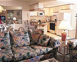 Barrier Island Station - Unit Living Area