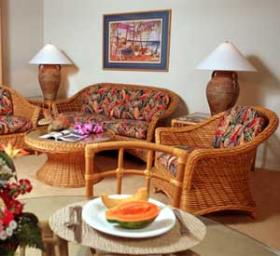 WorldMark Kona Resort - Unit Living Area