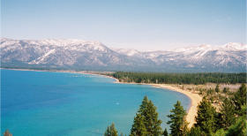 Lake Tahoe Scenery