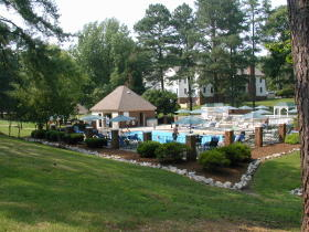 Wyndham Kingsgate - Patriot pool